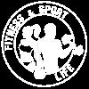logotipo de fitness e esporte